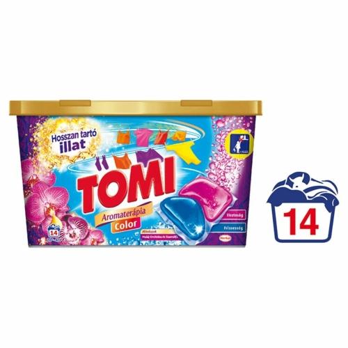 TOMI MOSÓKAPSZULA DUO CAPS 14DB (14WL) COLOR MALAYSIAN PINK