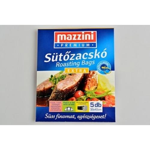 SÜTŐZACSKÓ EXTRA 5DB 38X40CM MAZZINI